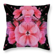 Pink Punch Throw Pillow