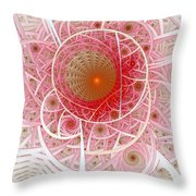 Pink Punk Throw Pillow