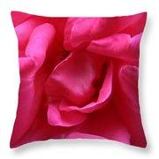 Pink Rose 01 Throw Pillow