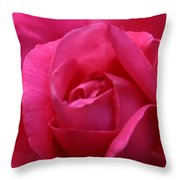 Pink Rose 02 Throw Pillow