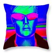 Pink Sunglasses Throw Pillow