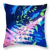 Pink Tea Leaf Erickson Throw Pillow