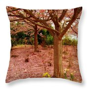 Pink Tones Throw Pillow