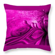 Pink Wishes Throw Pillow