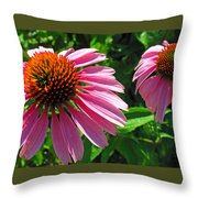 Pinks Throw Pillow