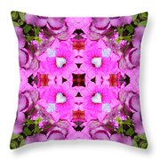 Pinks- Oh My Throw Pillow