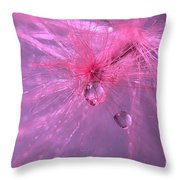 Pinky Dream Throw Pillow