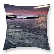 Pinkyblue Horizon 2 Throw Pillow