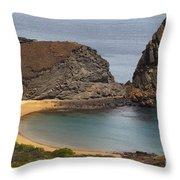 Pinnacle Rock Galapagos Throw Pillow