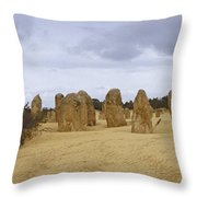 Pinnacles Australia Throw Pillow