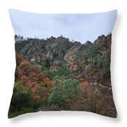 Pinnacles National Park Throw Pillow