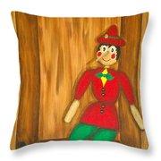 Pinocchio Throw Pillow
