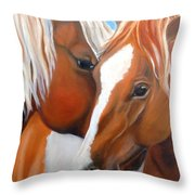 Pinto Love Throw Pillow