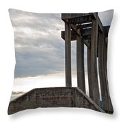 Pioneer Sand And Gravel Pit Throw Pillow