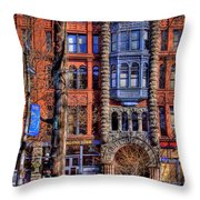 Pioneer Square No.1 Throw Pillow