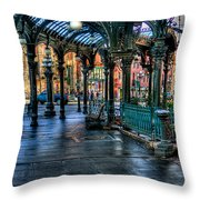 Pioneer Square - Seattle Throw Pillow