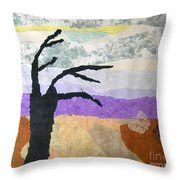 Pipal Tree Throw Pillow