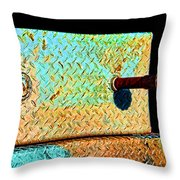 Pipe Box Throw Pillow