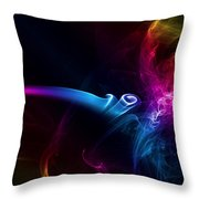 Pipe Of Peace Throw Pillow