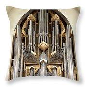 Pipe Organ Throw Pillow