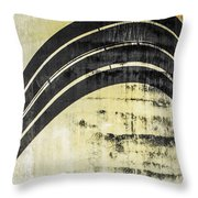 Piped Abstract 4 Throw Pillow