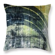 Piped Abstract Throw Pillow