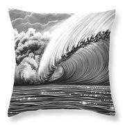 Pipeline Gem Throw Pillow