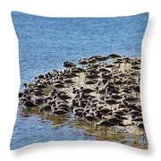 Pipers At The Bar Throw Pillow