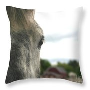 Piper's Thoughts Throw Pillow