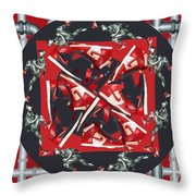 Pipes And Kicks Throw Pillow