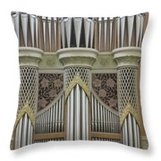 Pipes And Lattice Throw Pillow
