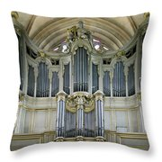Pipes In Paris Throw Pillow