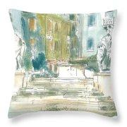 Piran - Square 1st May Throw Pillow