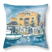Piran - Tartini Theatre Throw Pillow