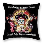 Pirate Lafitte Lake Charles La Throw Pillow Throw Pillow