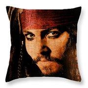 Pirate Life - Rum Sunset Throw Pillow