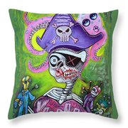 Pirate Voodoo Throw Pillow