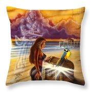 Pirates Chest Throw Pillow