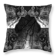 Pirate's Keepsake Throw Pillow