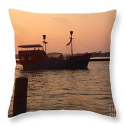 Pirates Of Lake Erie Throw Pillow