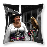 Pirates Of The Caribbean V5 Throw Pillow