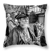 Pirates Of The Caribbean V6 Throw Pillow