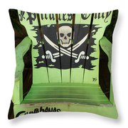 Pirates Only Throw Pillow