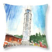 Pisa In Italy 01 Throw Pillow