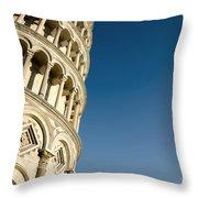 Pisa Tower Throw Pillow