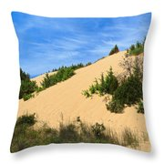 Piscinas Dunes - Sardinia. Italy Throw Pillow
