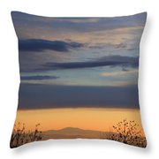 Pisgah Sunrise Throw Pillow