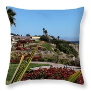Pismo Beach Landscape Throw Pillow