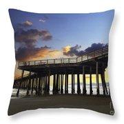 Pismo Pier  Throw Pillow