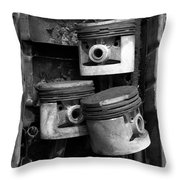 Pisotons In A Pan Throw Pillow